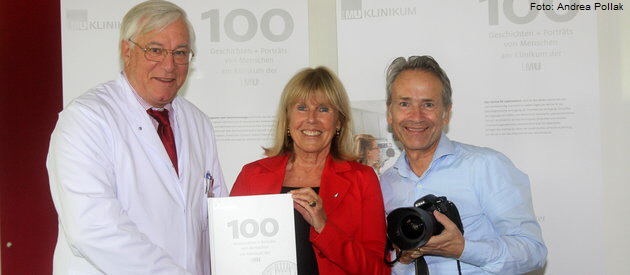 Prof. Karl-Walter Jauch, Elke Reichart, Andreas Steeger. Foto: Andrea Pollak