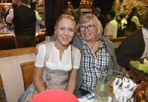 Andrea Raudies mit Mutter Barbara Klappert